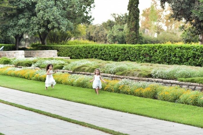 Wedding and happy children at mataim